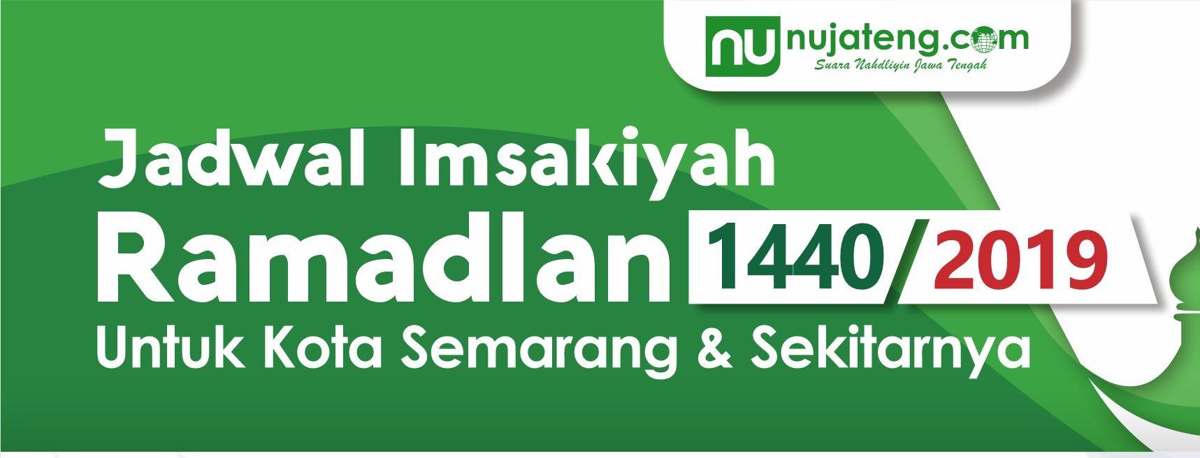 Donwload Jadwal Imsakiyah 1440 H Untuk Semarang dan ...