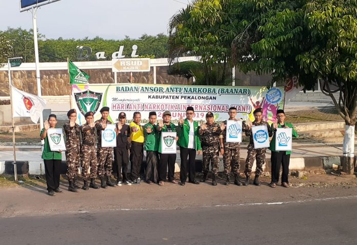 Peringati HANI, Baanar Kabupaten Pekalongan Gelar Campaign On The Road. (Kredit foto: Alim Mustofa)
