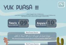 Niat Puasa Tasu'a dan Asyura