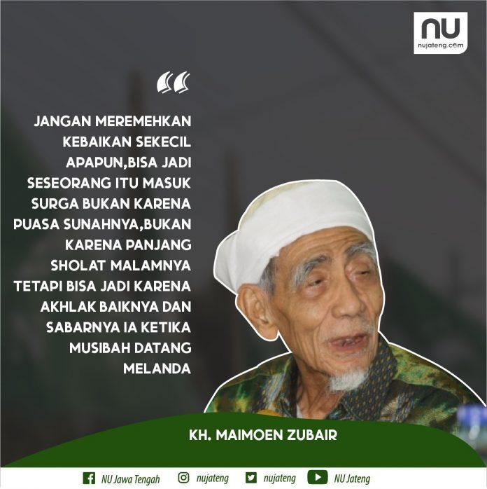 Maqalah Mbah Maimoen